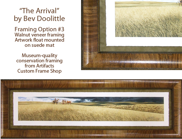 Artifacts Gallery - The Arrival<br>(Frame Design 3)
